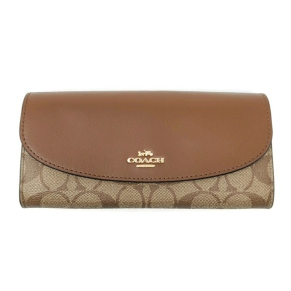 Coach Handbags - 100% Auth Coach Bifold New Wallet